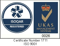 ISOQAR and UKAS Certification